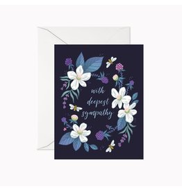 Linden Paper Co. With Deepest Sympathy Card