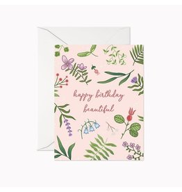 Linden Paper Co. Happy Birthday Beautiful Card