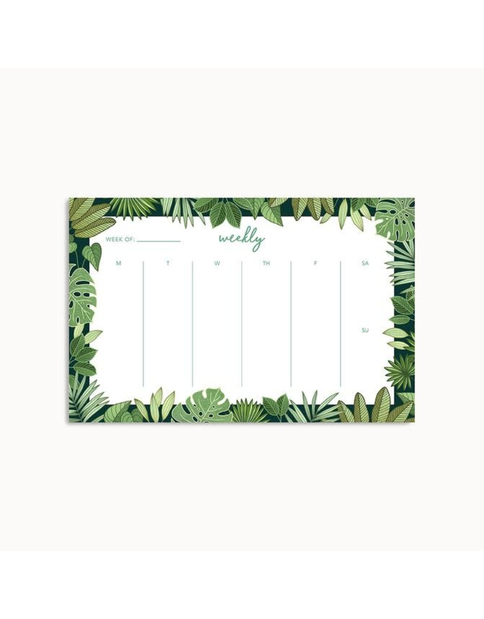 Linden Paper Co. Jungle Weekly Planner Pad