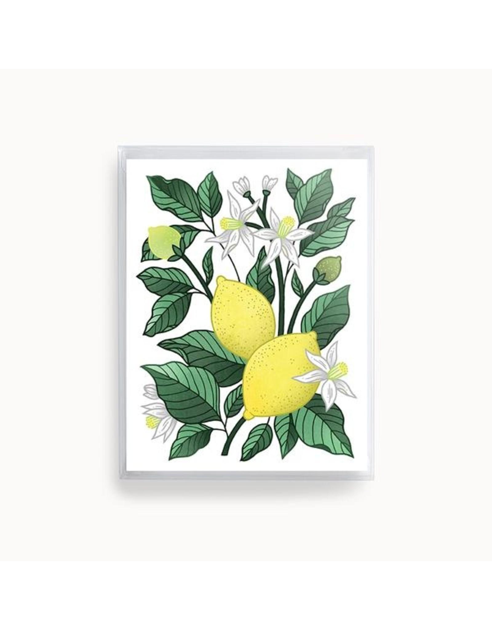 Linden Paper Co. Lemon Delight Card | Set of 8