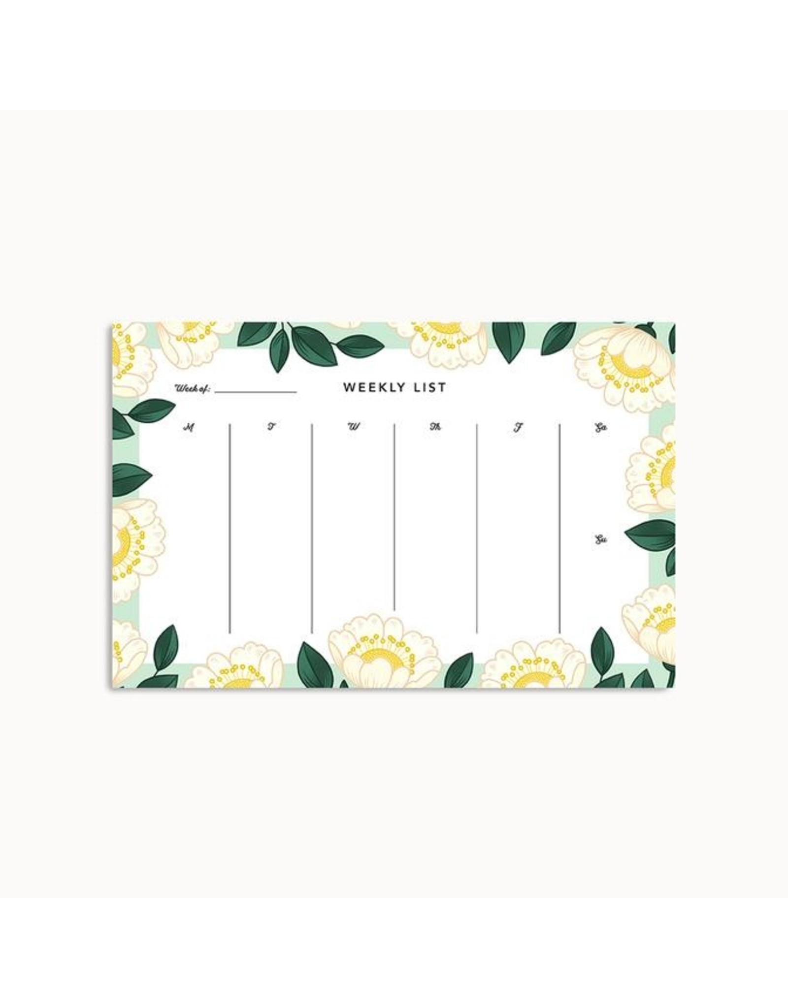 Linden Paper Co. Blossom Weekly Planner Pad