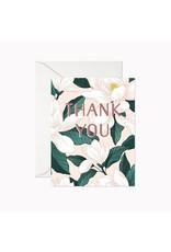 Linden Paper Co. Magnolia Thank You Card