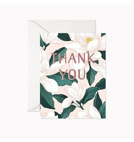 Linden Paper Co. Magnolia Thank You Card