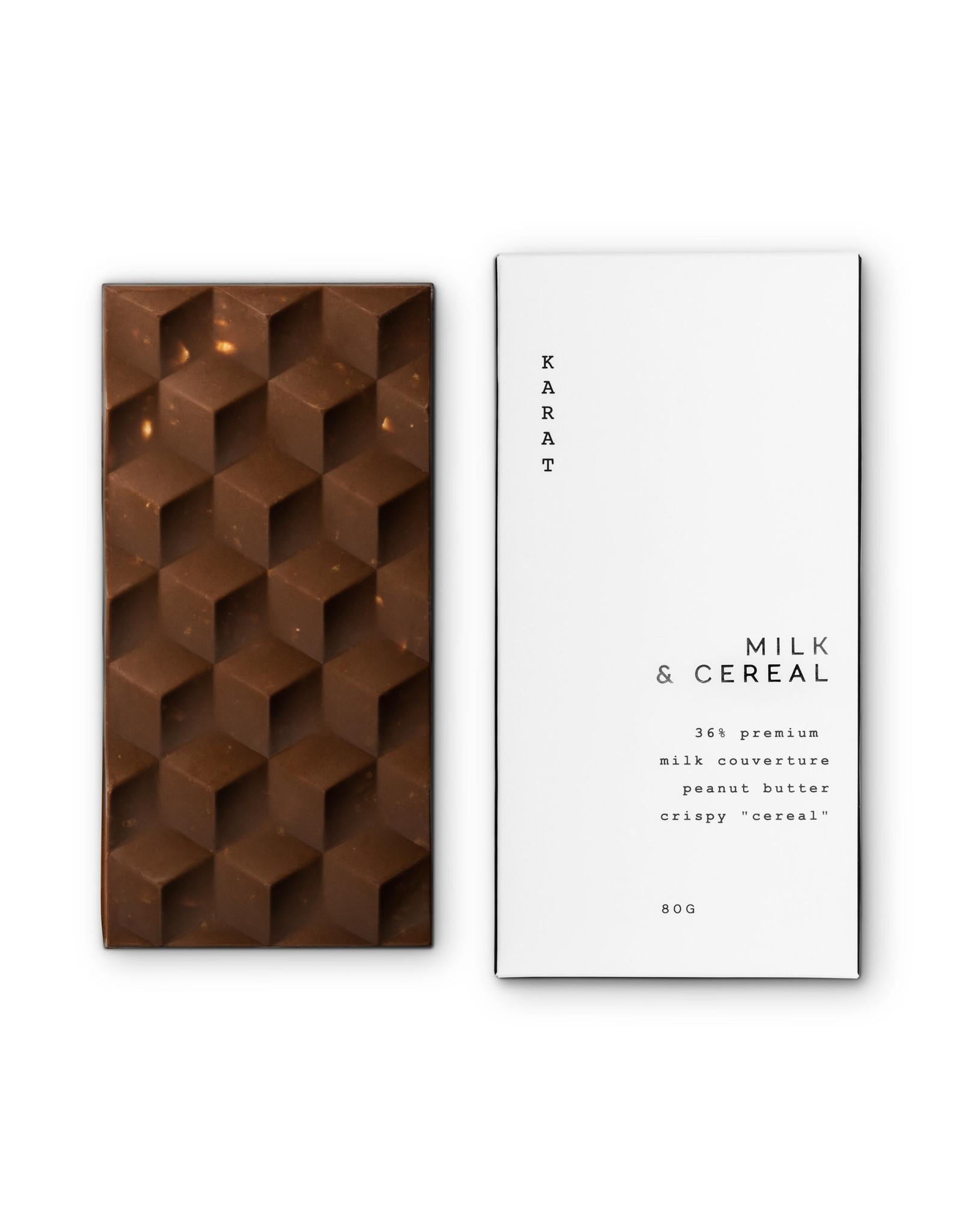 Karat Chocolate Milk and Cereal- Chocolate Bar