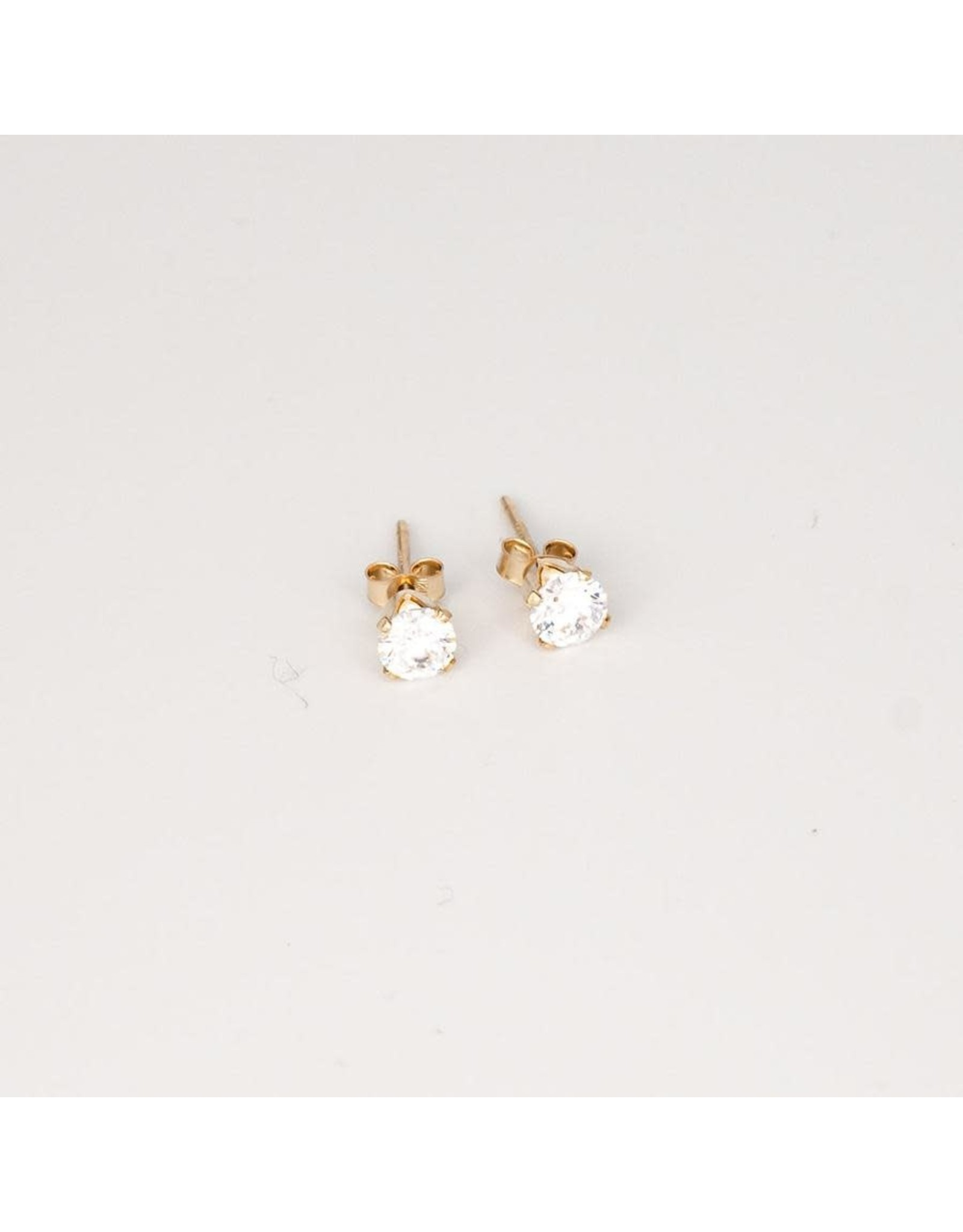 """Jewelry By Amanda Gold """"I Can't Believe They're Not Diamonds!"""" Earrings"""