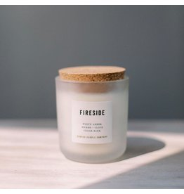 Canvas Candle Co. Fireside Candle Signature