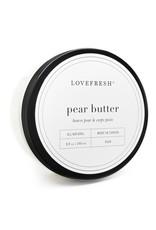 LOVEFRESH 8oz Pear Body Butter