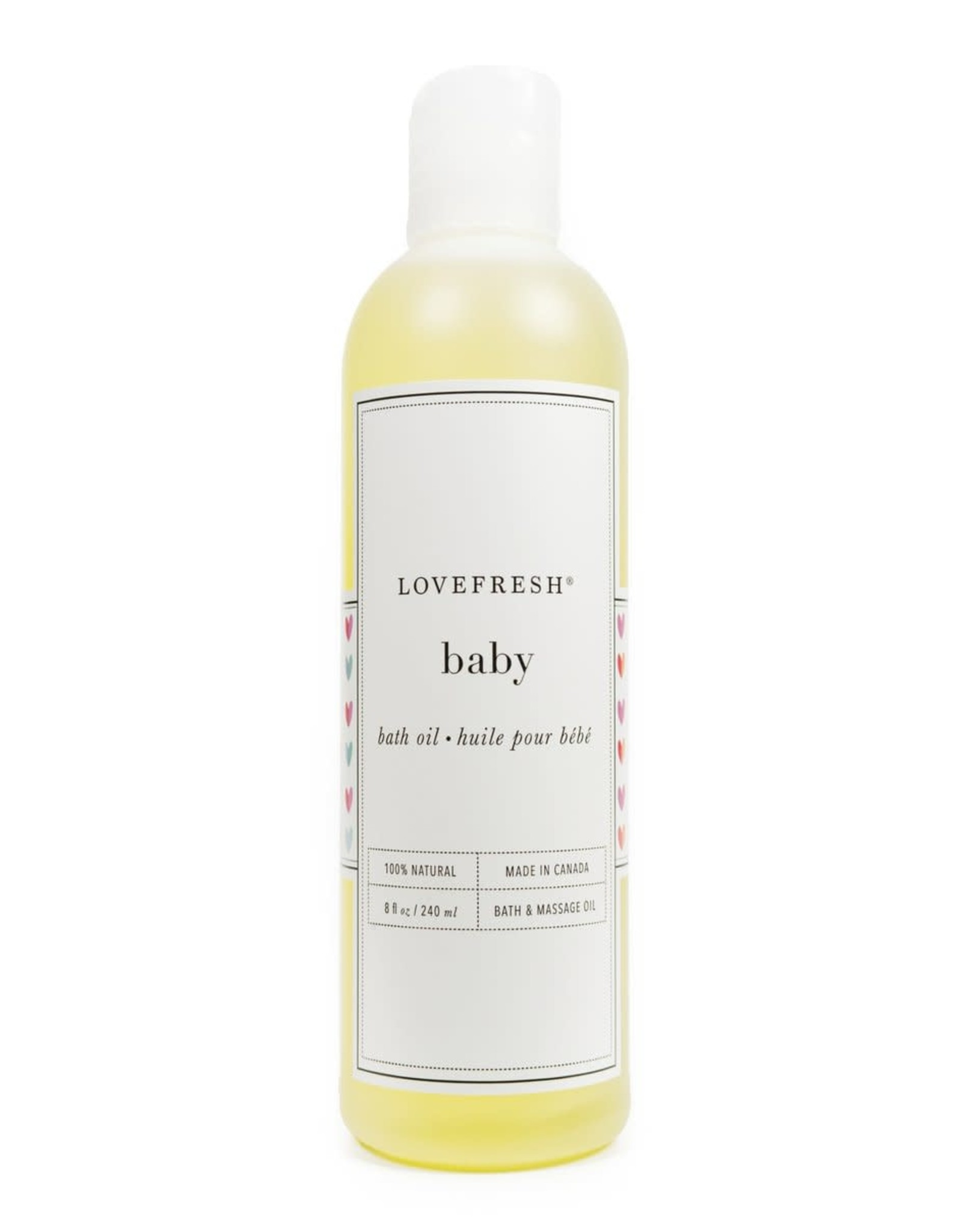 LOVEFRESH Baby Bath & Massage Oil