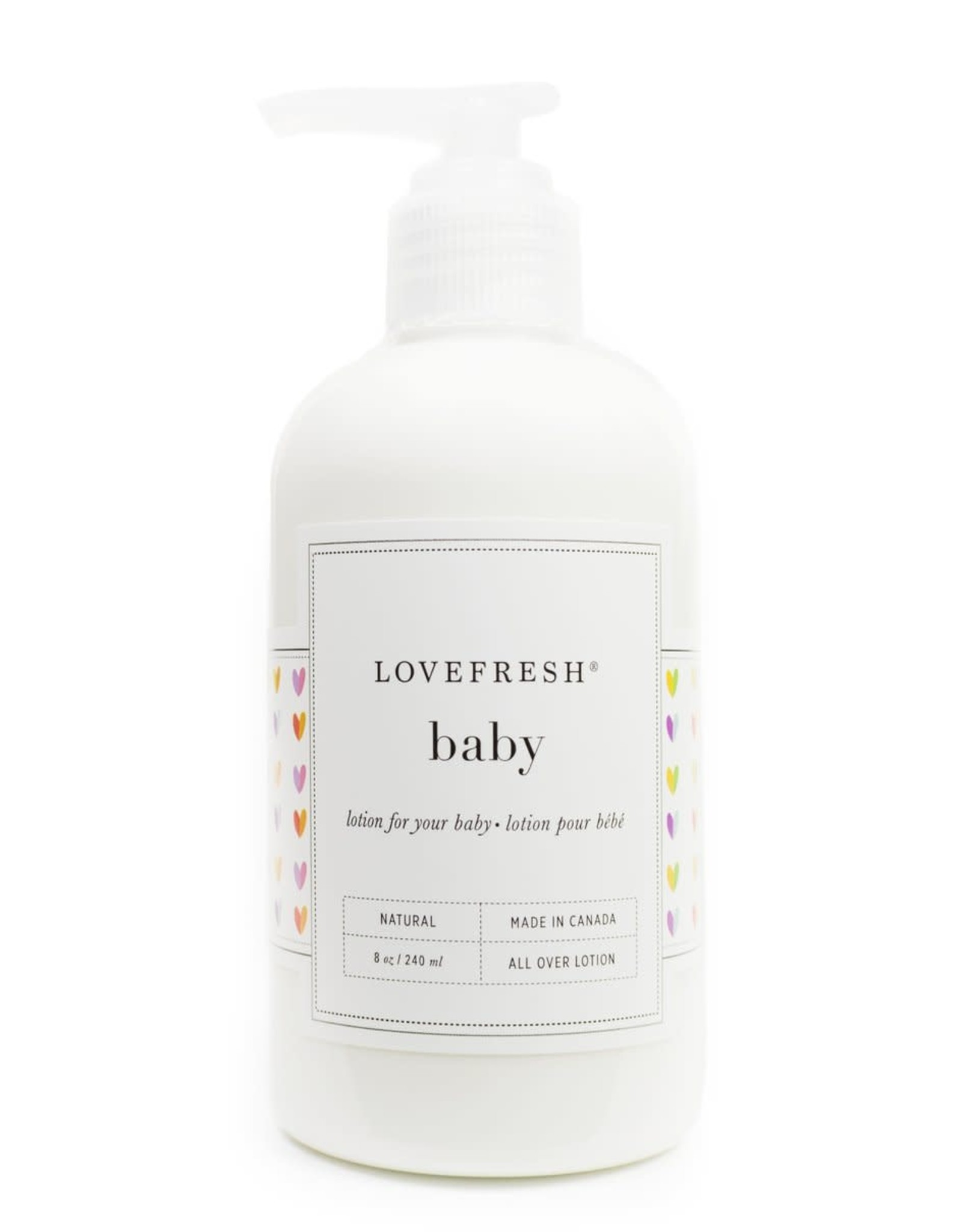 LOVEFRESH Baby Lotion | Hearts Design