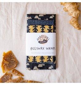 Mooshki Made 3 Pack 'Mountains'  Smalls Wax Wraps