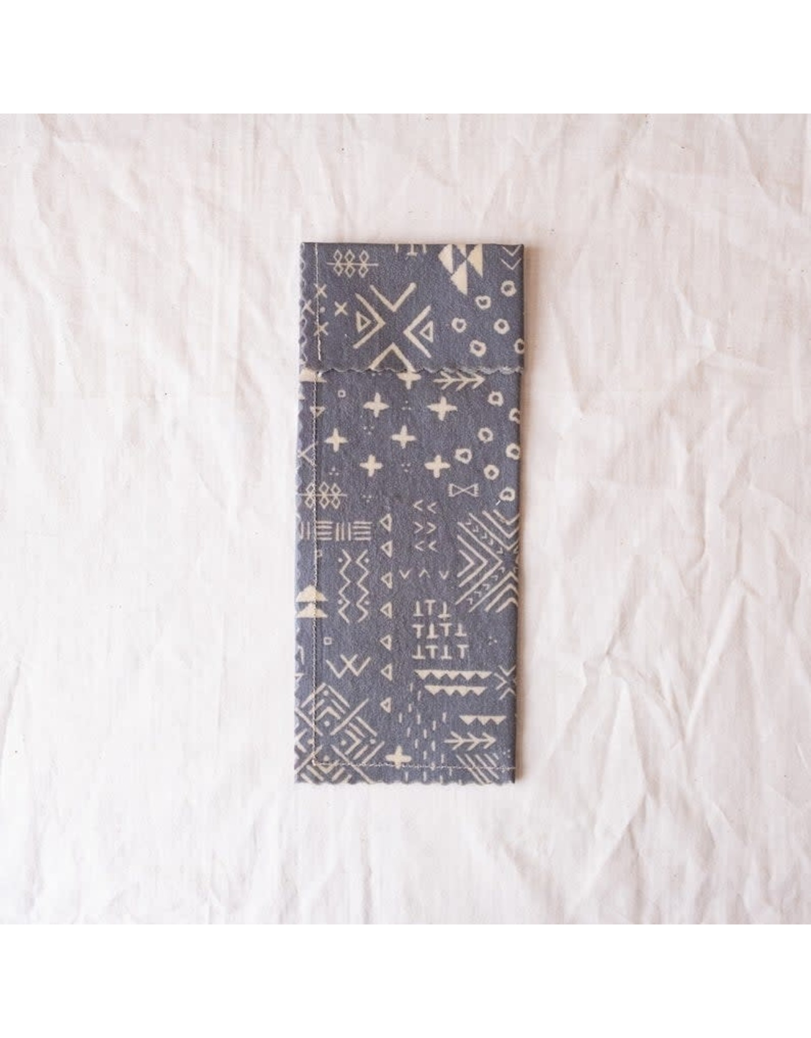 'Silver Linings' Beeswax Snack Sack