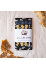 Mooshki Made 3 Pack 'Mountains'  Variety Wax Wraps
