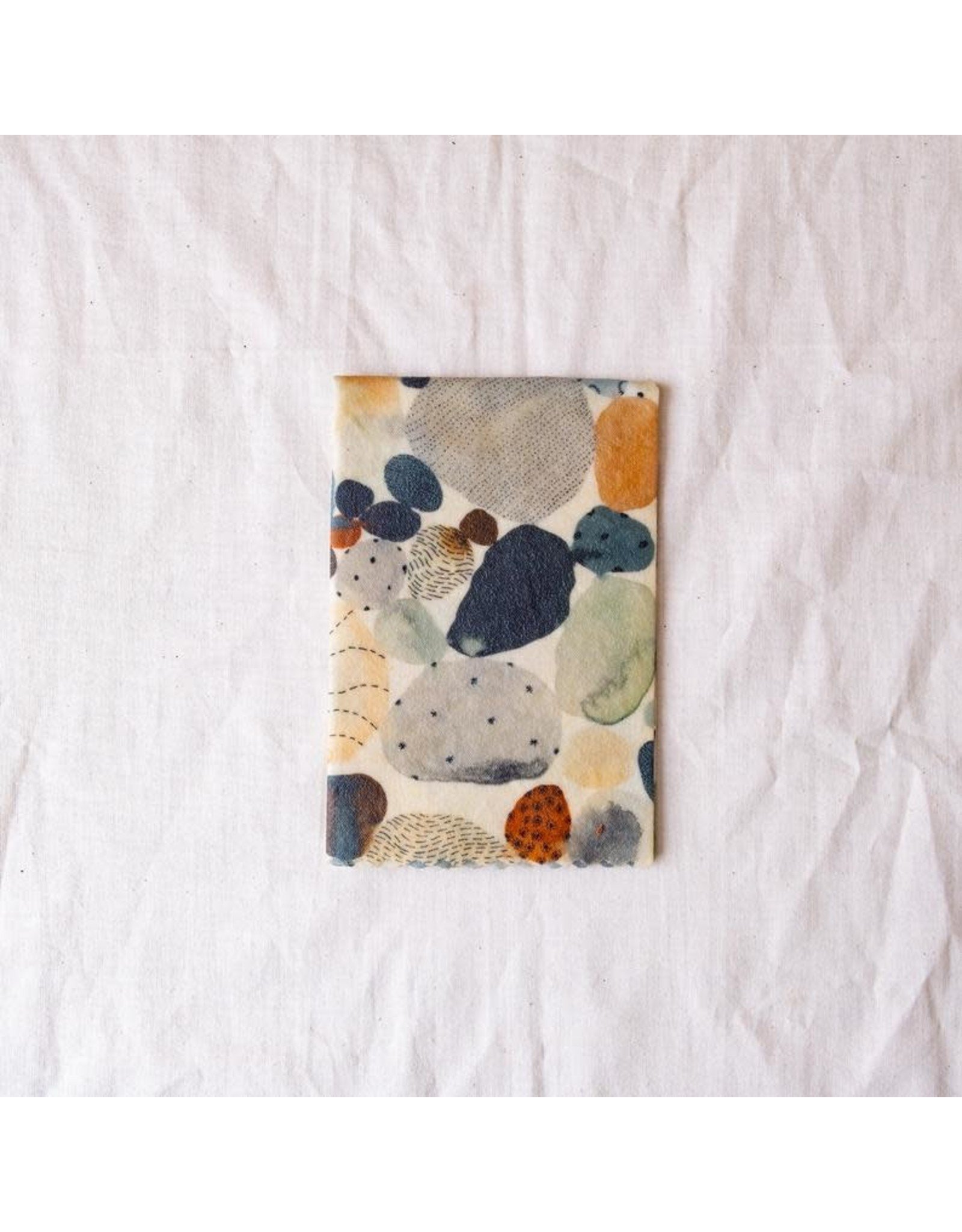 Mooshki Made Single X- Large 'Pebble Beach'  Beeswax Wrap
