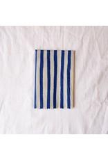 Single Medium 'Nautical Blue'  Beeswax Wrap