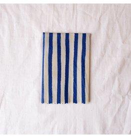 Single Large 'Nautical Blue'  Beeswax Wrap