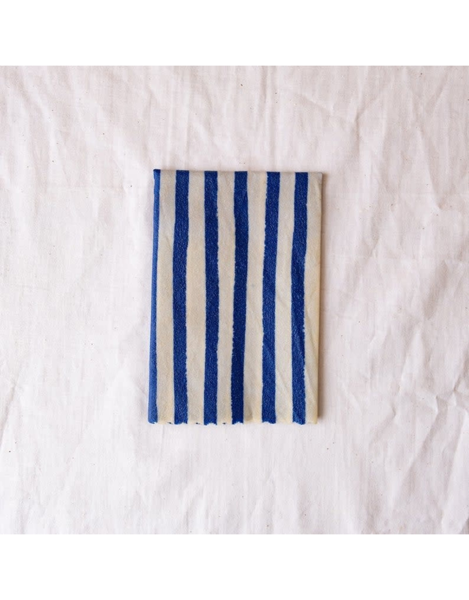 Mooshki Made Single X- Large 'Nautical Blue'  Beeswax Wrap