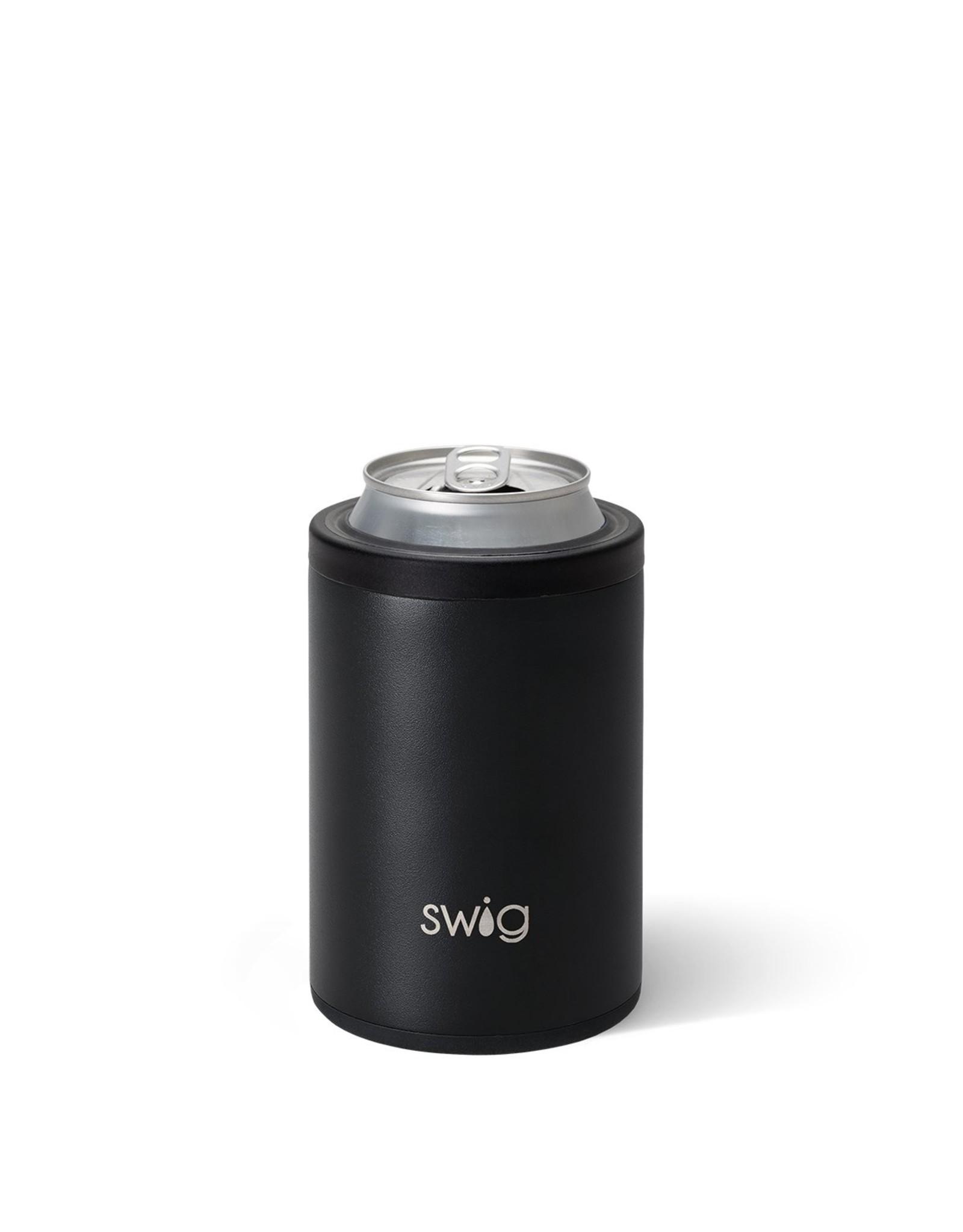 Swig 12 oz Combo Can Cooler - Matte Black