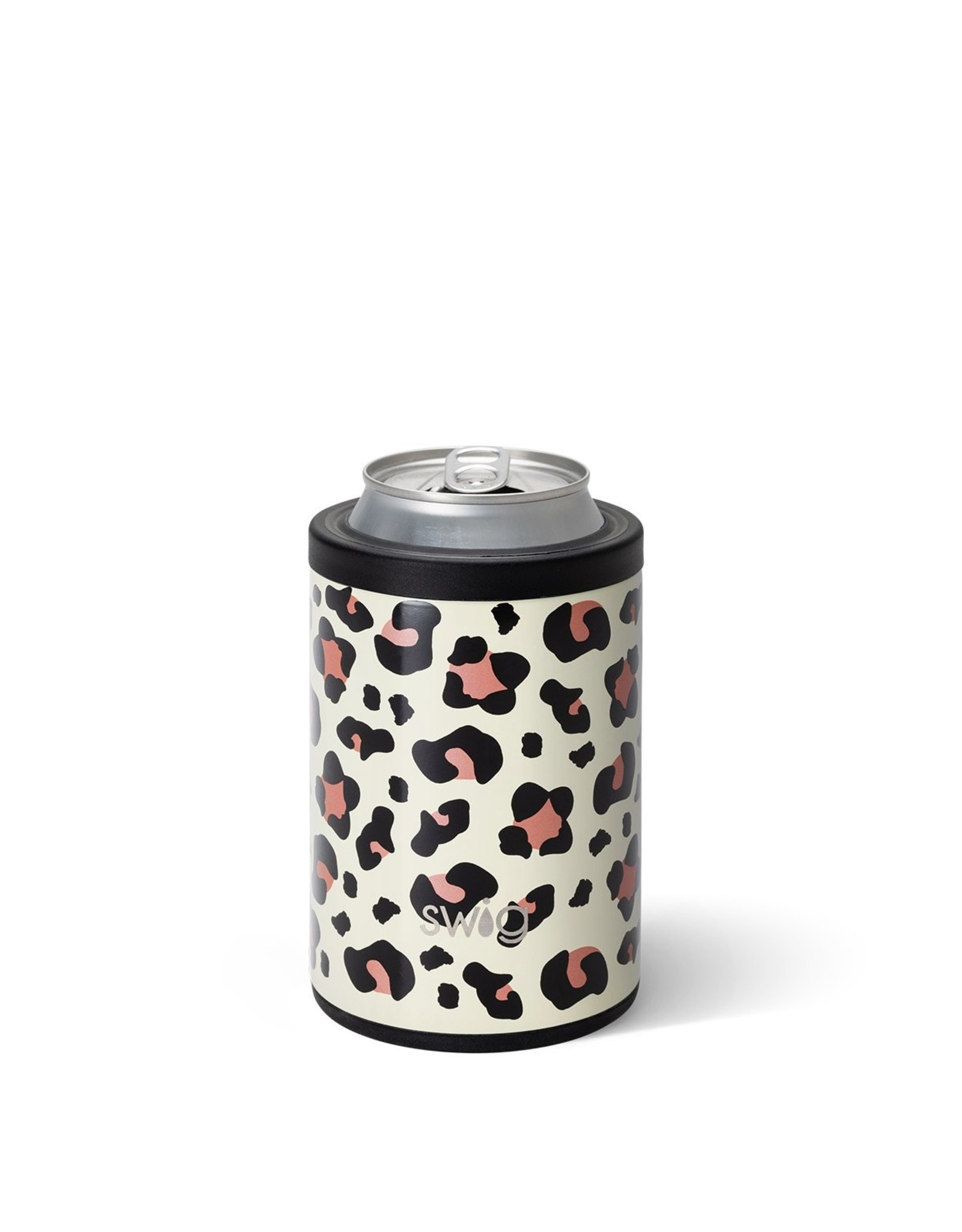 Swig 12 oz Combo Can Cooler - Luxy Leopard