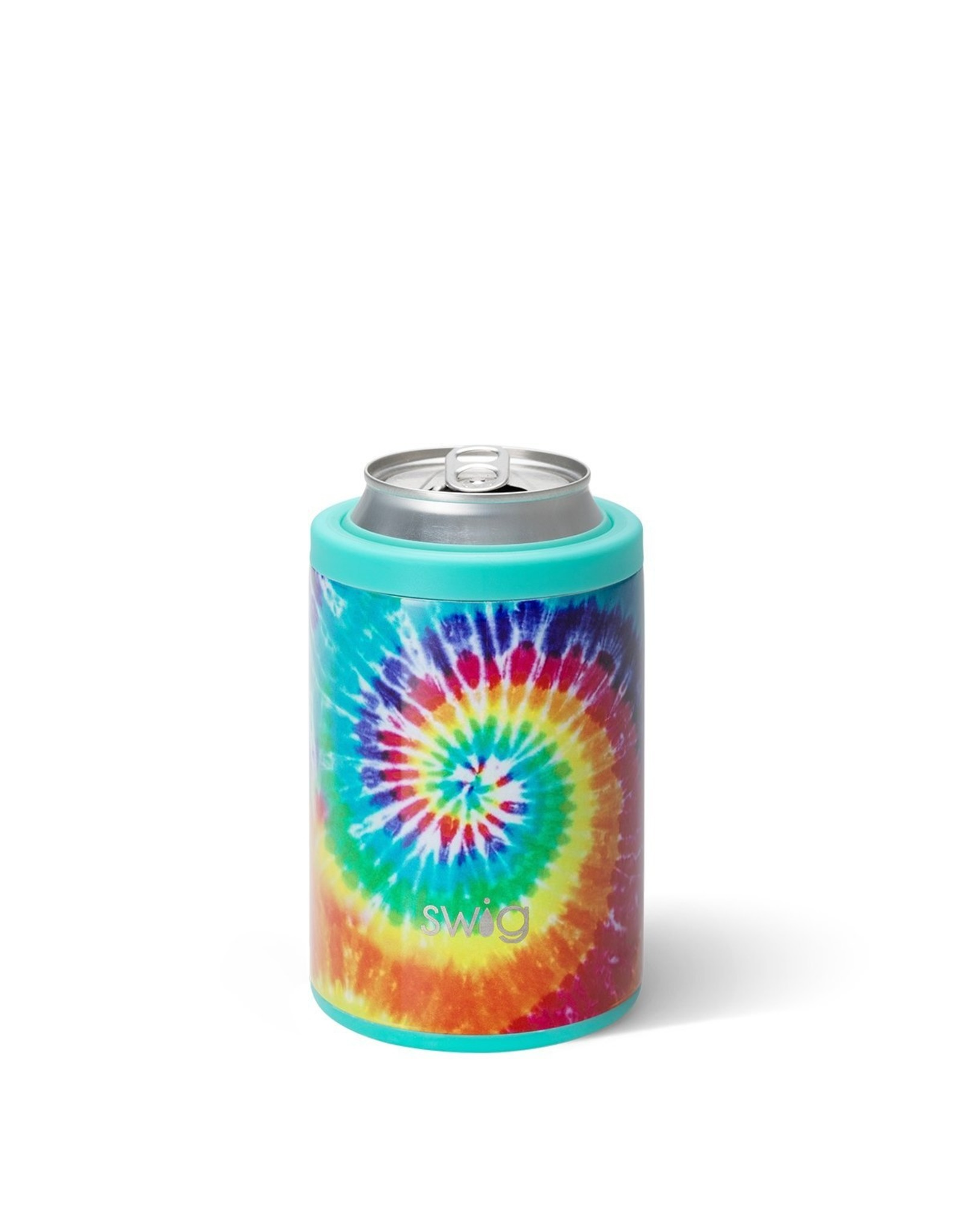 Swig 12 oz Combo Can Cooler - Swirled Peace