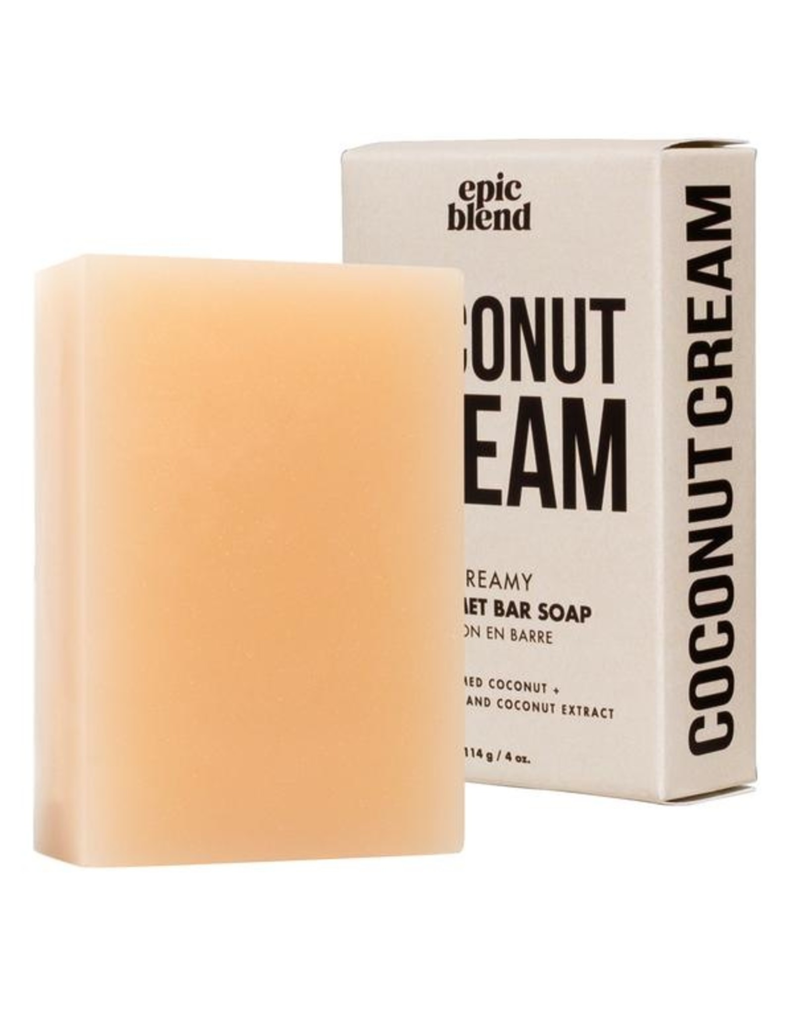 Epic Blend Coconut Cream Bar Soap