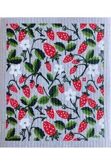 Ten & Co Strawberry Sponge Cloth