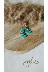 Potter + Grace The Sapphire Earring
