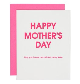 Chez Gagne Happy Mother's Day Mistaken Sister - Card