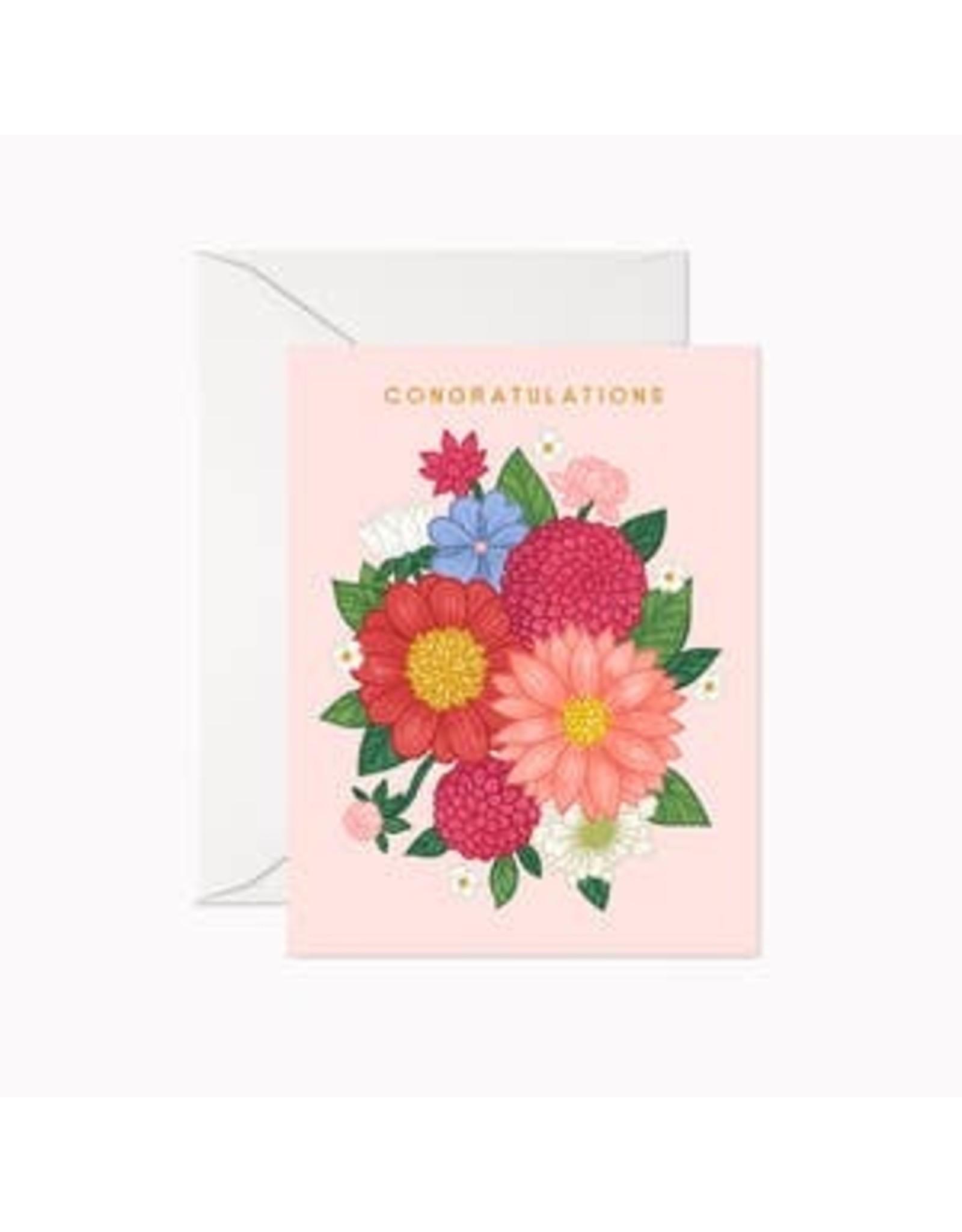 Linden Paper Co. Congratulations Bouquet Card