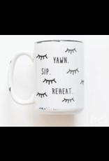Praire Chick Prints Yawn Sip Reheat - Mug