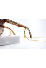 eLiasz and eLLa Sunnies & Mask Chain - Gold Jersey Chain