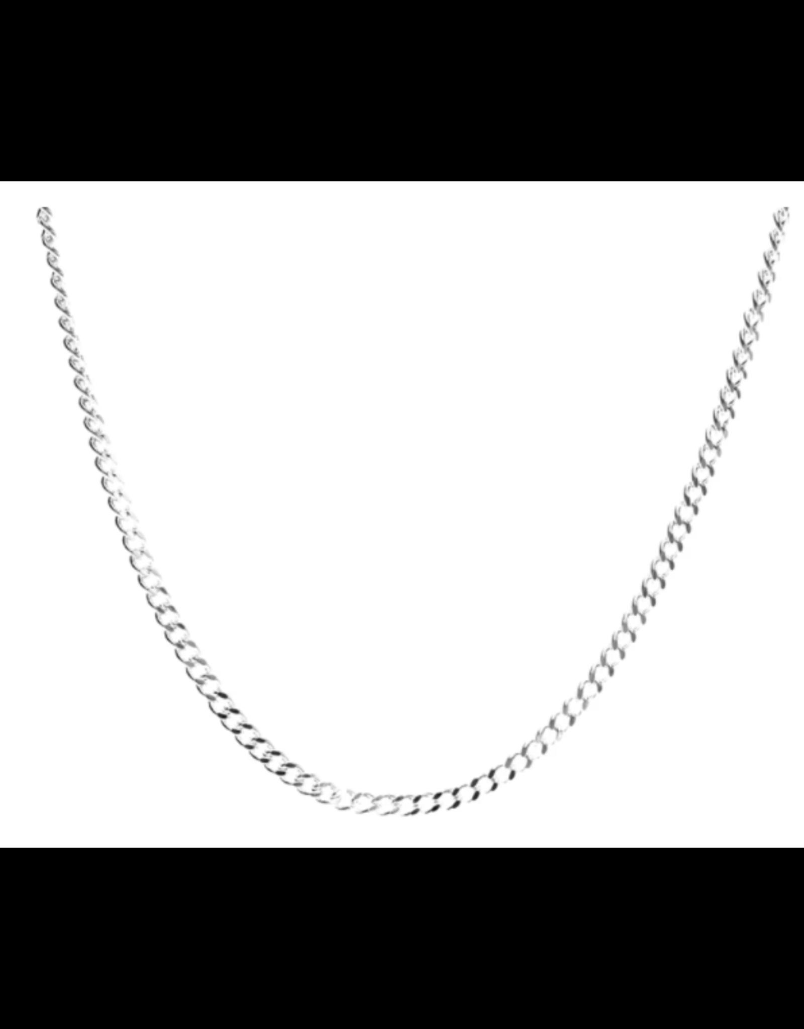 eLiasz and eLLa Sunnies & Mask Chain - Silver Jersey Chain