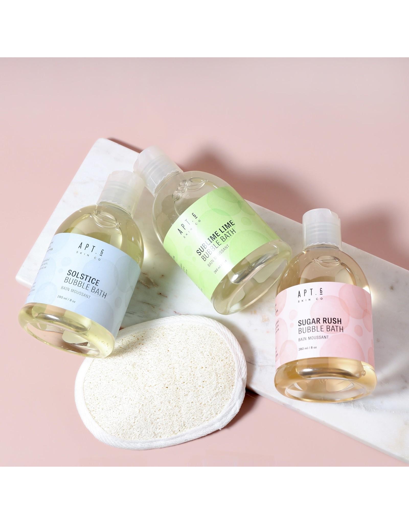 Apt. 6 Skin Co. Bubble Bath   Sublime Lime