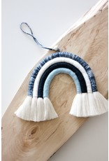 Made by Madeleine Macramé Rainbow- Blue Denim