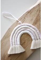 Made by Madeleine Macramé Rainbow- Lavender