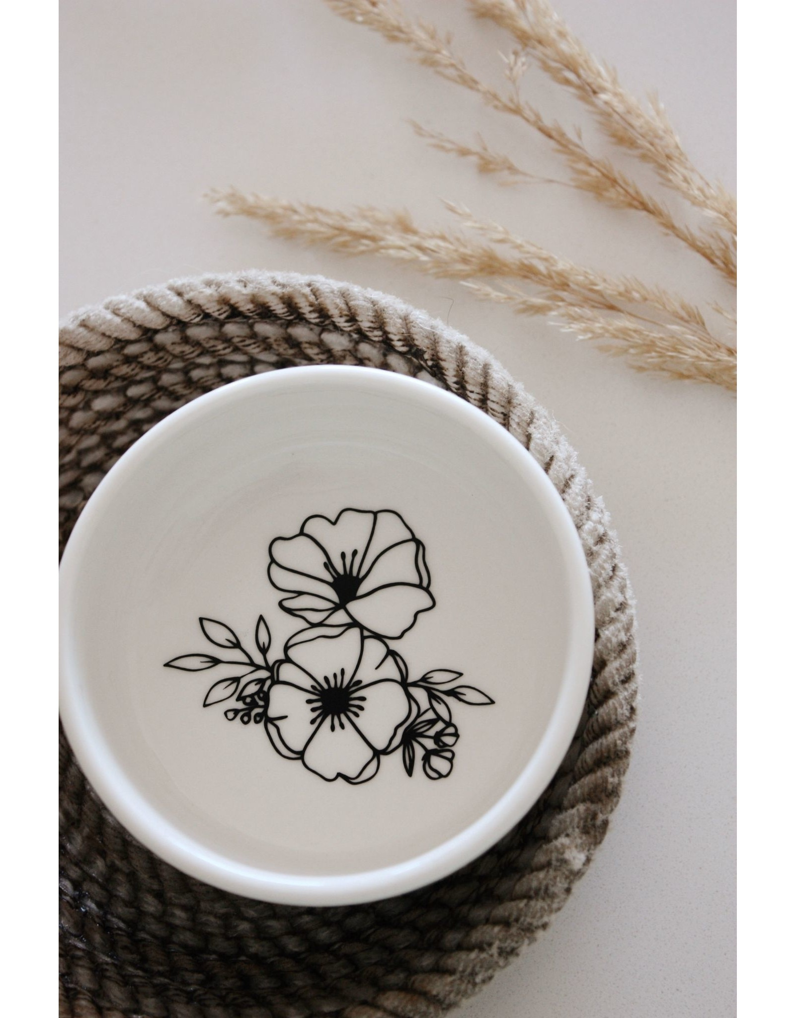 Made by Madeleine Ring Dish- Floral Bunch