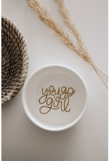 Made by Madeleine Ring Dish-  You Go Girl