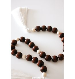 Made by Madeleine Beaded Garland- Chocolate