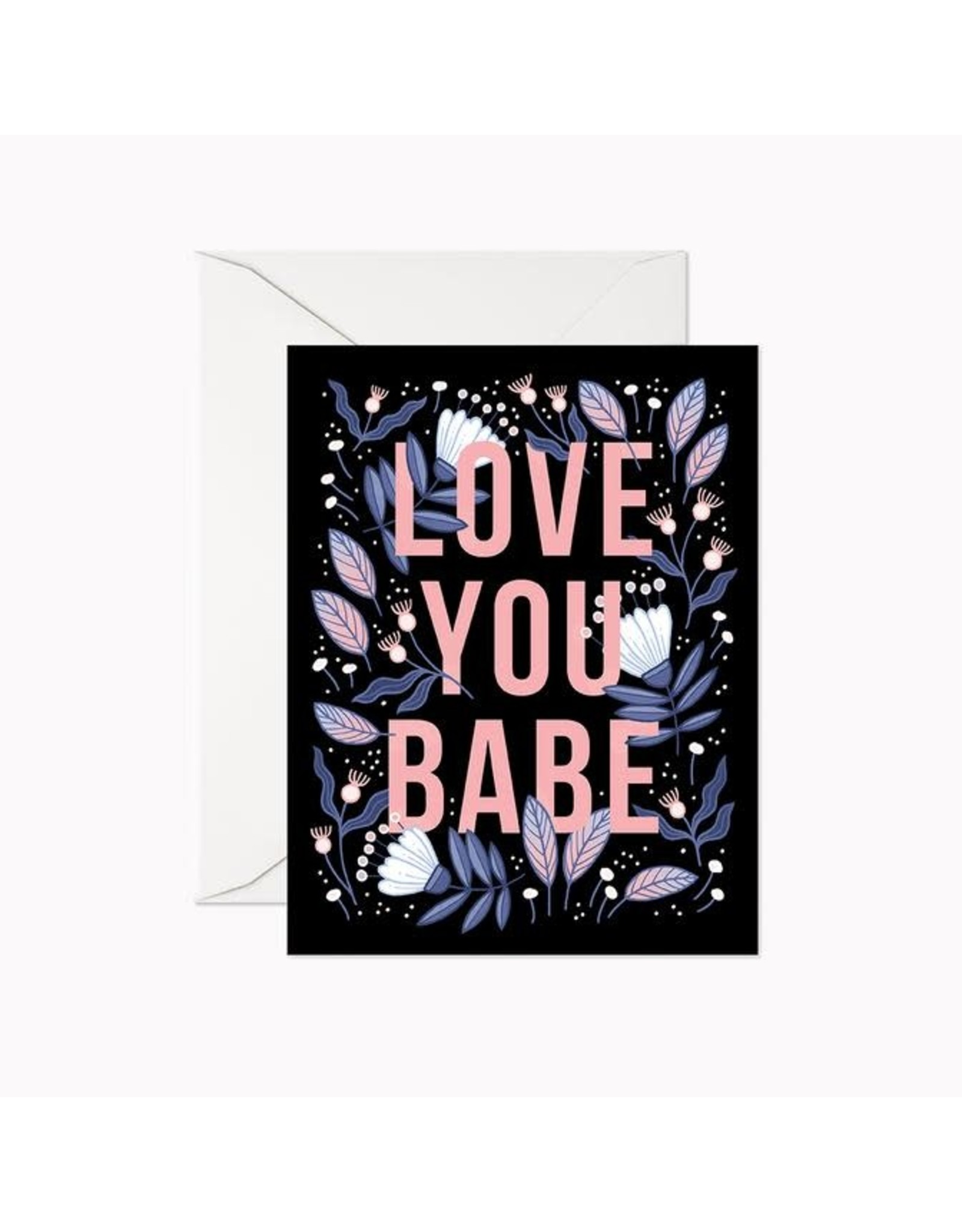 Linden Paper Co. Love You Babe Card
