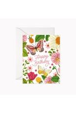 Linden Paper Co. Happy Birthday Butterflies