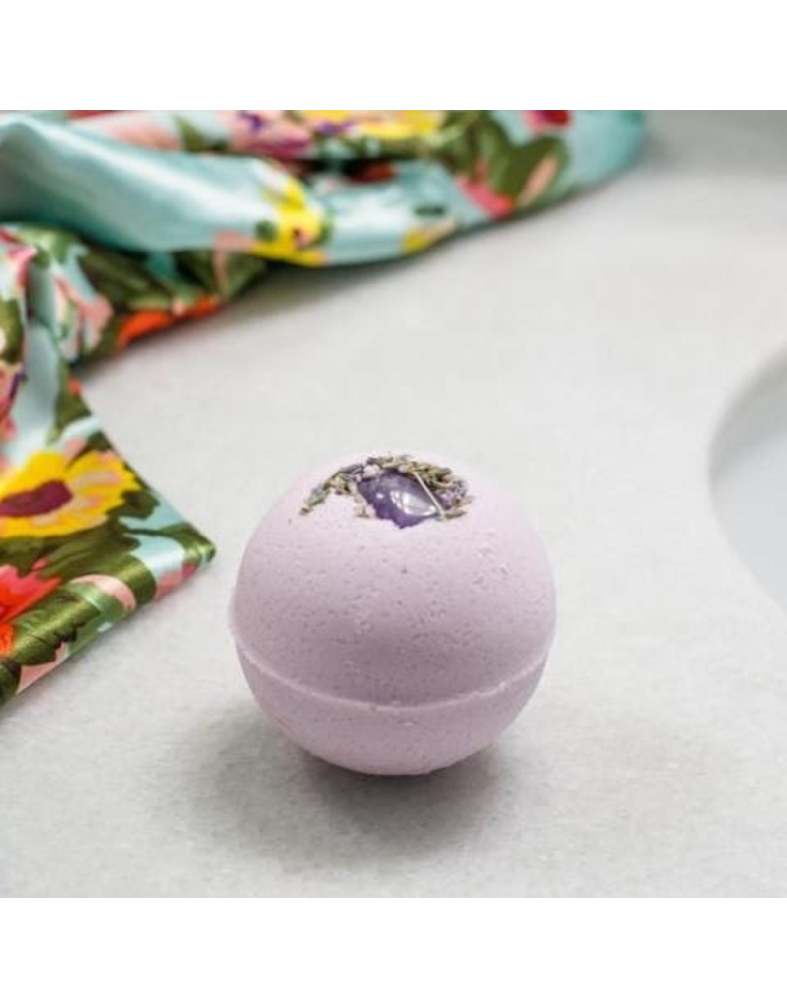 Apt. 6 Skin Co. Amethyst + Lavender Bath Bomb