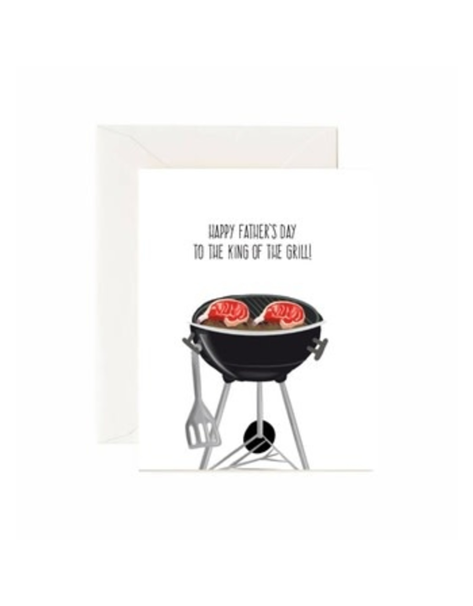 Jaybee Designs Happy Father's Day To The King Of The Grill - Card