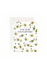 Jaybee Designs Hey Lady, Just Want To Wish You A Happy Birthday - Card