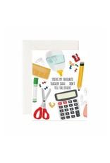 Jaybee Designs You're My Favourite Teacher - Card
