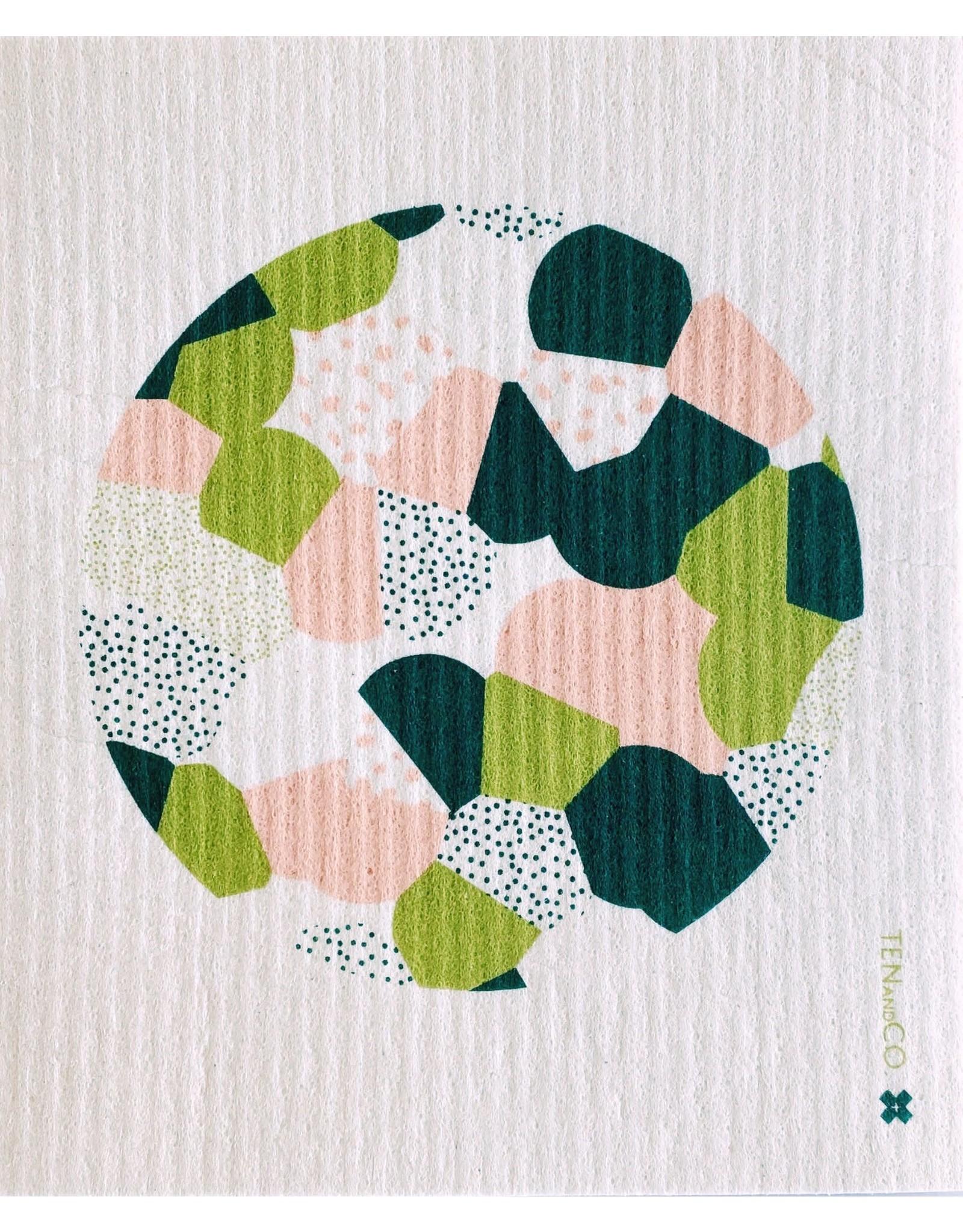Ten & Co Full Circle Sponge Cloth