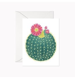 Linden Paper Co. Barrel Cactus Card
