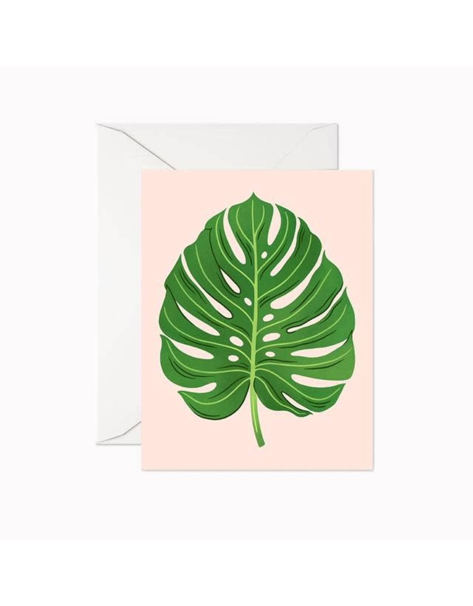 Linden Paper Co. Monstera Card