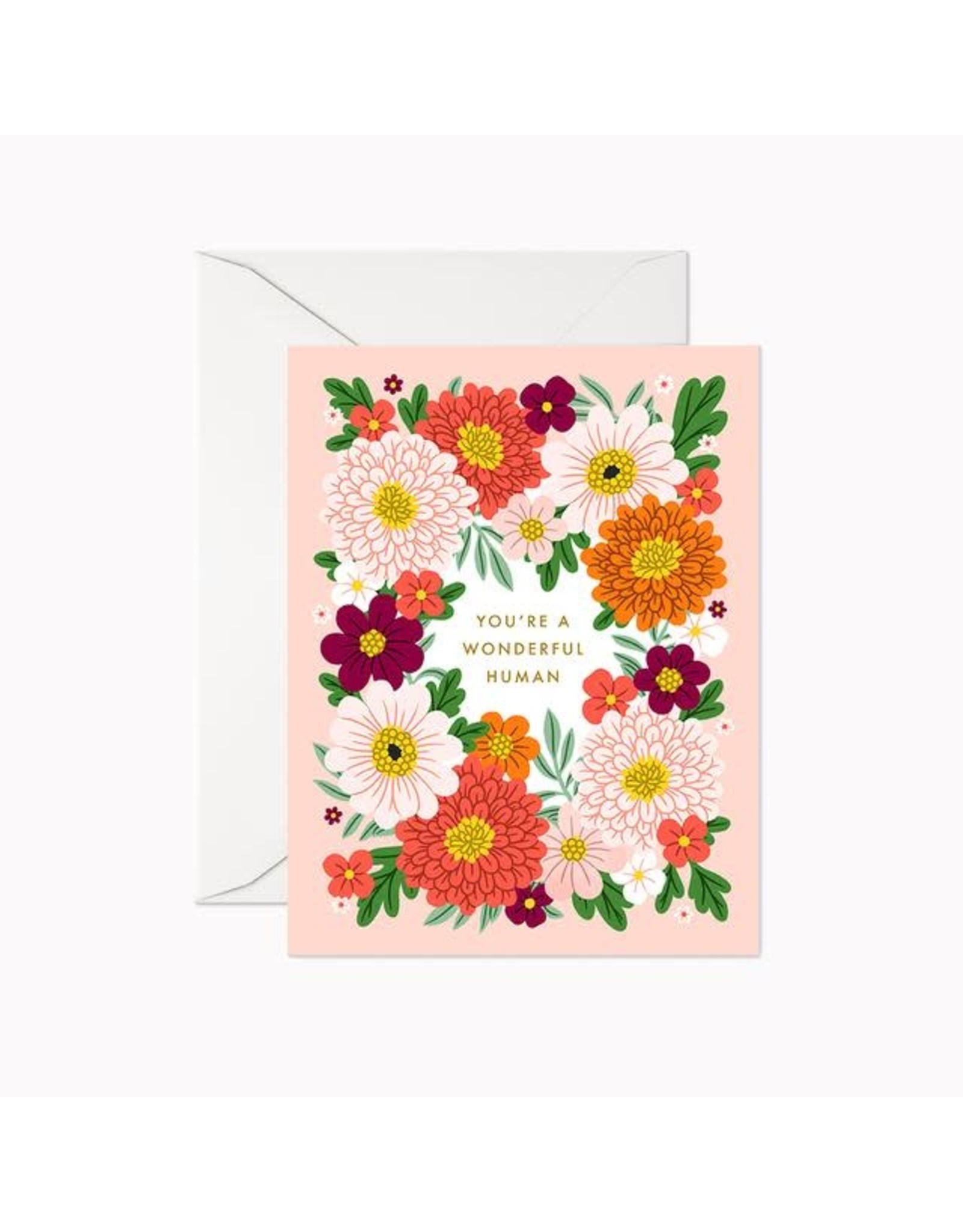 Linden Paper Co. You're a Wonderful Human Card