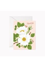 Linden Paper Co. Garden Rose Thank You Card