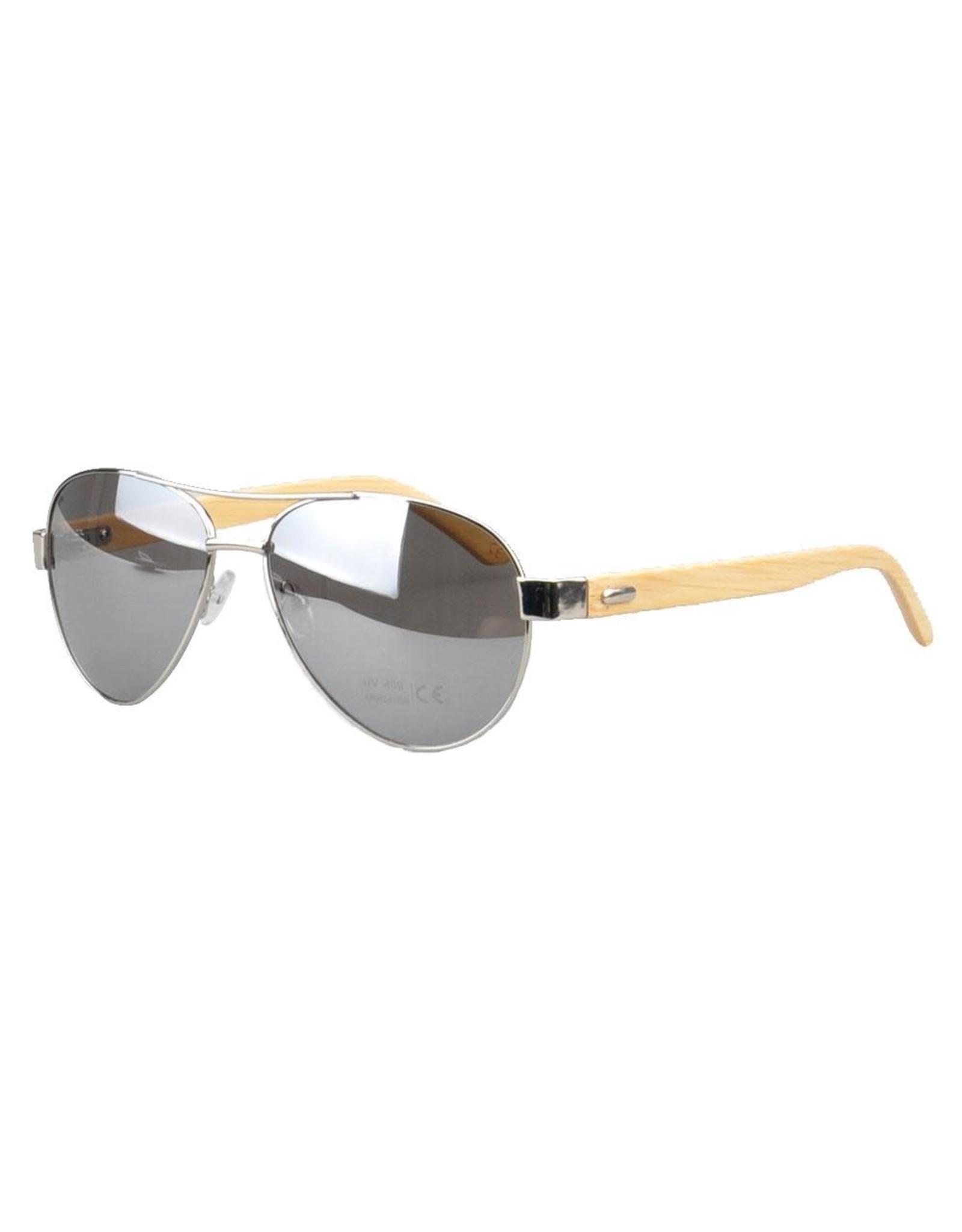 Jacaranda Silver Sunglasses
