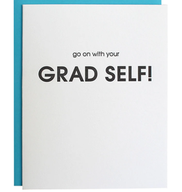 Chez Gagne Go On With Your Grad Self - Card